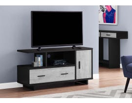 Monarch TV Stand in Black/Grey I2804