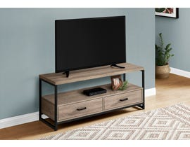 Monarch TV Stand in Dark Taupe I2872