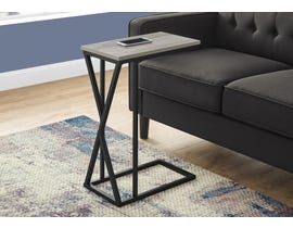 Monarch Metal Accent Table in Grey I3248
