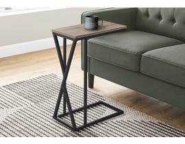 Monarch Metal Accent Table in Dark Taupe I3249