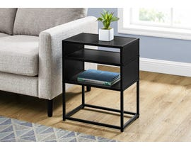 Monarch Metal Accent Table in Black I3505