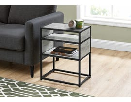 Monarch Metal Accent Table in Grey I3506