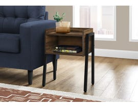 Monarch Metal Reclaimed-look Accent Table in Brown I3583