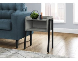 Monarch Metal Accent Table in Grey I3591