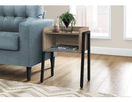 Monarch Metal Accent Table in Dark Taupe I3592