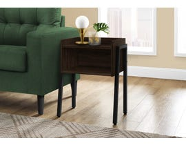 Monarch Metal Accent Table in Espresso I3593