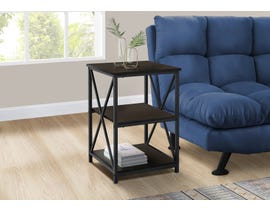 Monarch Metal Accent Table in Espresso I3598