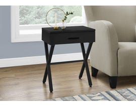 Monarch Metal Accent Table in Black I3605