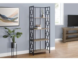 Monarch Metal Etagere in Dark Taupe I3616