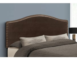 Monarch Leather-look Headboard in Brown I6010