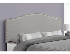 Monarch Linen Headboard in Grey I6013