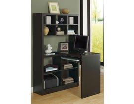 Monarch Computer Desk Cappuccino Left Or Right Facing Corner I7021