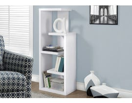 "Monarch Bookcase 48""H White Accent Display Unit I2466"