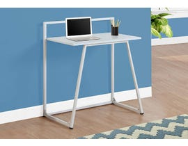 "Monarch Computer Desk 30""L  Juvenile White White Metal I7110"