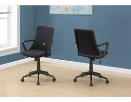 Monarch office chair in BLACK / Black Mesh / MULTI POSITION I7267