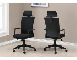 Monarch High Back Executive Office Chair in Black I7300