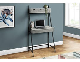 Monarch Computer Desk in Grey I7331