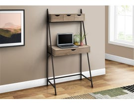 Monarch Computer Desk in Dark Taupe I7332