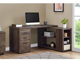 Monarch Computer Desk Brown Reclaimed Wood L/R Facing Corner I7420