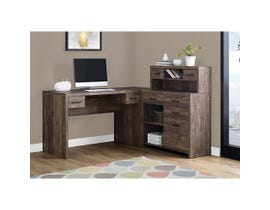 Monarch Computer Desk Brown Reclaimed Wood L/R Facing Corner I7427