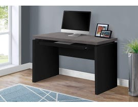 "Monarch Computer Desk 48""L Black Grey Top I7439"