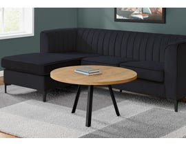 Monarch Round Coffee Table in Brown I7818