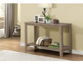 "Monarch ACCENT TABLE - 44""L / DARK TAUPE HALL CONSOLE I7915S"