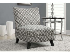 Monarch Fabric Accent Chair in Grey I8113