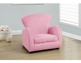 Monarch JUVENILE CHAIR - FUZZY PINK FABRIC I8142