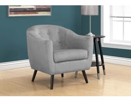 Monarch Accent Chair Grey Mosaic Velvet 8258