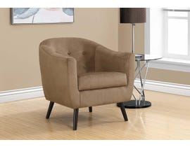 Monarch Accent Chair Light Brown Mosaic Velvet 8259