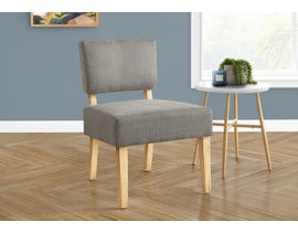 Monarch Fabric Accent Chair in Light Grey I8273
