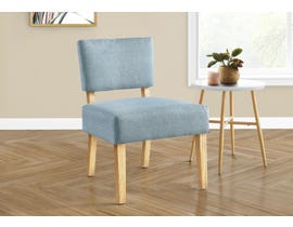 Monarch Fabric Accent Chair in Light Blue I8274
