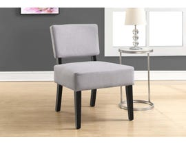 Monarch Accent Chair Light Grey Fabric 8276