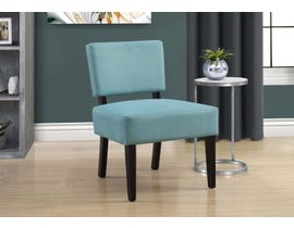 Monarch Fabric Accent Chair in Teal 8279