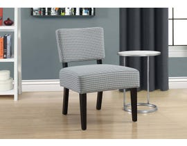 Monarch Accent Chair Light Blue Grey Abstract Dot Fabric 8288