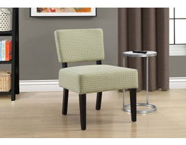 Monarch Accent Chair Light Dark Green Abstract Dot Fabric 8289