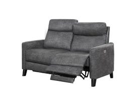 Flair Medici Series Loveseat in Bailey Smoke MEDICI