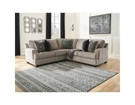Signature Design by Ashley Bovarian Series 2 Pc RAF Sofa w/Corner Wedge Sectional in Stone 56103