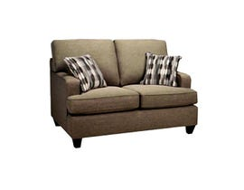 Sofa by Fancy Fabric Loveseat in Tambora 46 5125