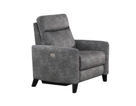 Flair Medici Series Chair in Bailey Smoke MEDICI