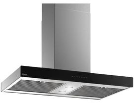 "Venmar Ispira Island 36"" 600 CFM Range Hood in Black IS70036BL"