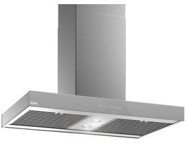 Venmar Ispira 36 inch 600 CFM Island Range Hood in Brushed Grey IS70036SS