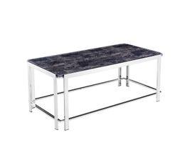 Standa Chrome Table Collection Metal Coffee Table J3879