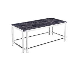 Standa Chrome Table Collection Metal Coffee Table J3879