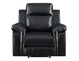 High Society Jamestown Recliner Black UJW120105P