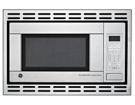 GE Appliances 1.1 CU ft Microwave OvenTrim Kit in Stainless Steel JE1140STC