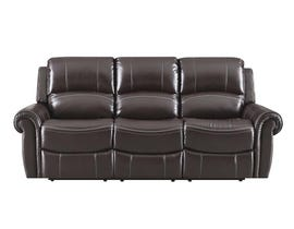 High Society Vanetta Series Manual Reclining Sofa in Espresso UJNxx