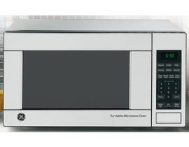GE 21 1/4 inch 1.1 cu.ft. Countertop Microwave Oven in stainless JES1140STC