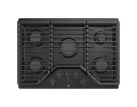 GE Appliances 30 inch 5-Burner Built-In Gas Cooktop in Black JGP5030DLBB